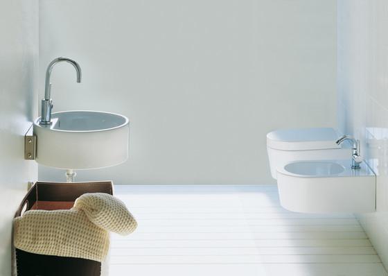 Twin column by Ceramica Flaminia