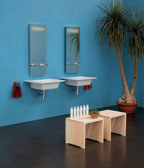 Volo shower tray de Ceramica Flaminia