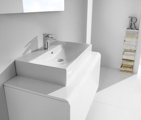 Diverta lavabo lavabos de roca architonic for Distribuidor roca barcelona
