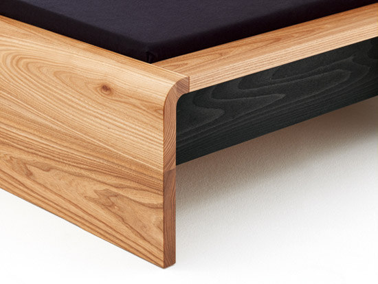 WAVE Bed de Holzmanufaktur
