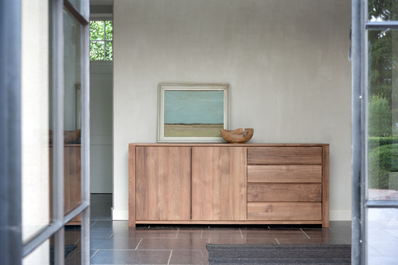 Teak Lodge TV cupboard by Ethnicraft