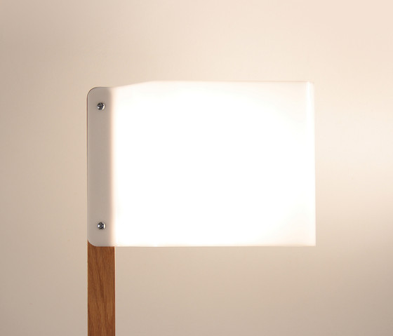Lighthouse F Floor lamp by Luz Difusión