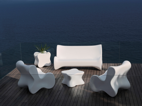Doux table di Vondom