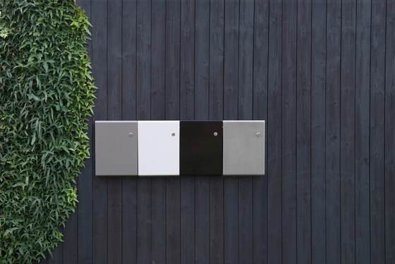 Letterbox | Slim | steel by Serafini