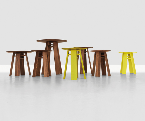 Bondt L Occasional table by Zeitraum