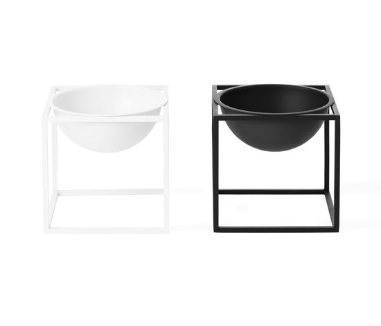 Kubus Bowl Black Small by by Lassen