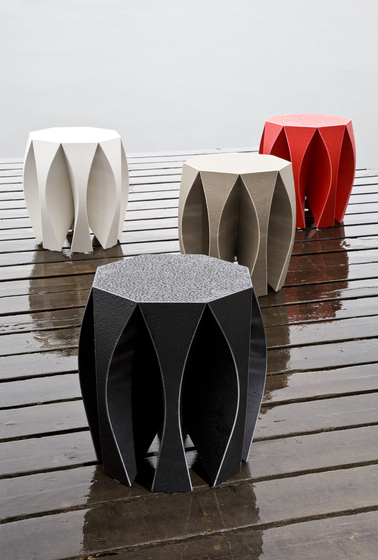 NOOK stool grey de VIAL