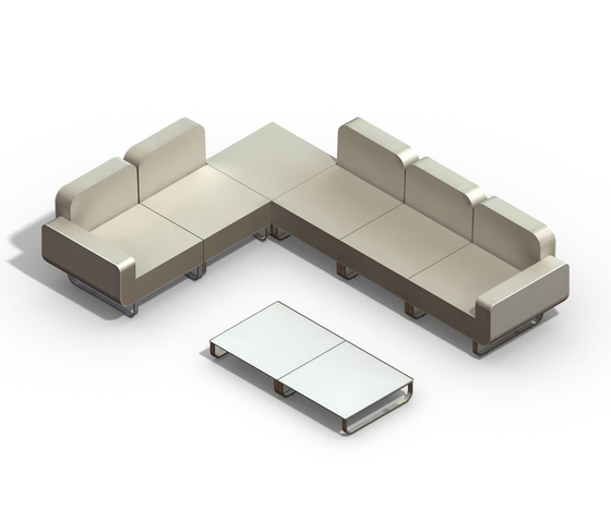 Fold coffee table by Royal Botania