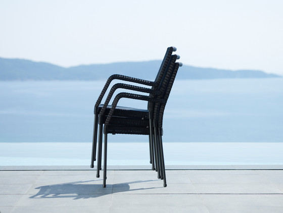 Newport Chair w/o Armrests by Cane-line
