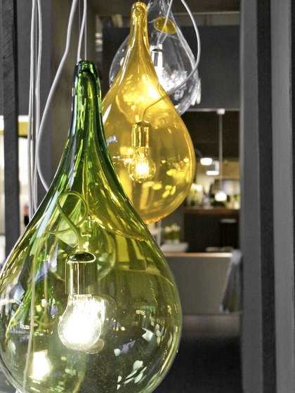 Liquid Light Drop 2 xs 5 Mini pendant light by next
