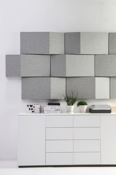 Triline Acoustical Wall Panel by Abstracta
