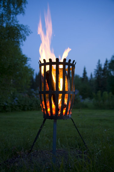 Original fire basket by Röshults