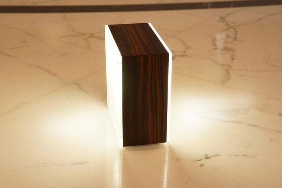 Cubo Cubetto Wood by luce²