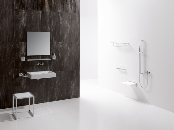 Towel rail by HEWI