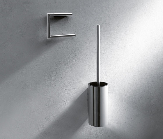 Standard door fittings for framed doors, design 163X by HEWI