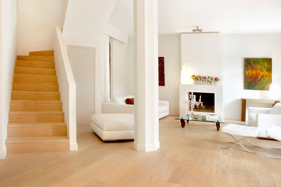 CLASSIC HARDWOOD Ash light white by Admonter
