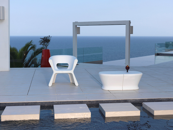 Pal armchair by Vondom