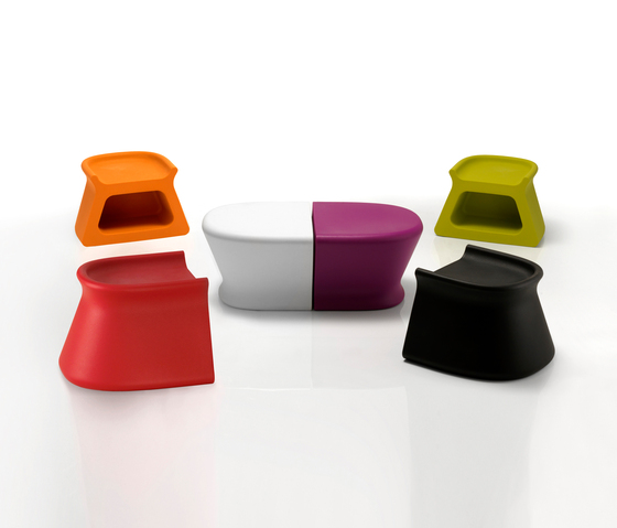 Pal table von Vondom