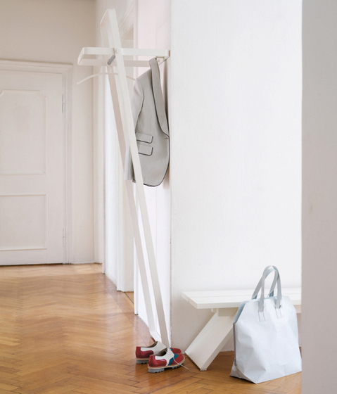FLEX Wall coat rack by Schönbuch
