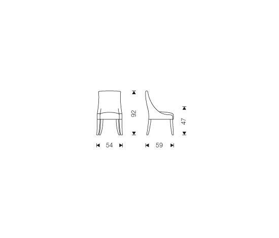 Chairs   Seating   Desliz capitoné chair   Jacinto Usán