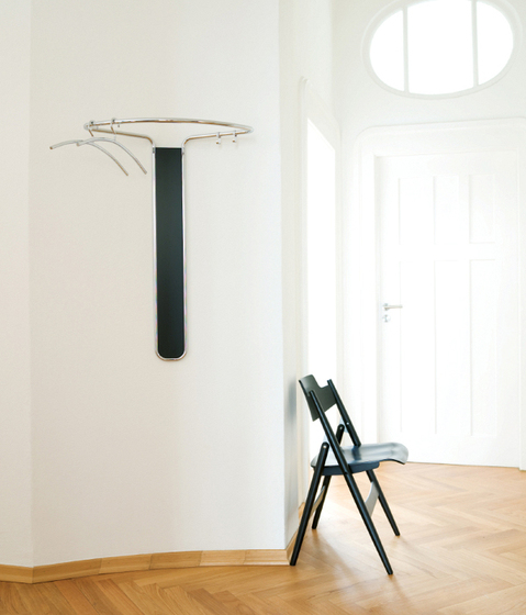 PIPE Wall coat rack by Schönbuch