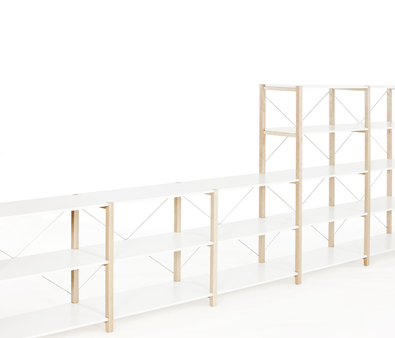 Shelving System Low Unit by Artek