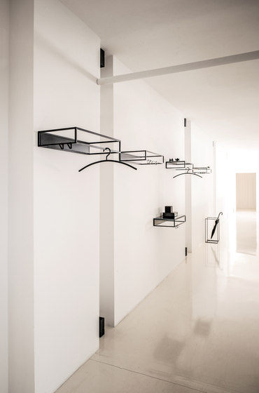 RACK Umbrella Stand / Side Table by Schönbuch