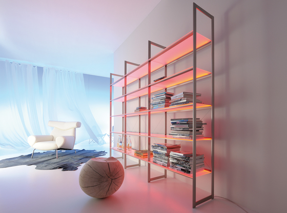 Lighting system 6 Light shelf by GERA