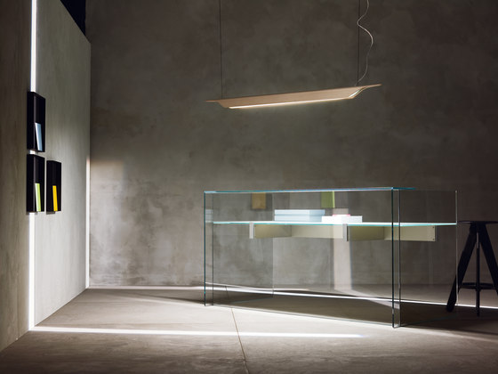 Troag suspension medium by Foscarini