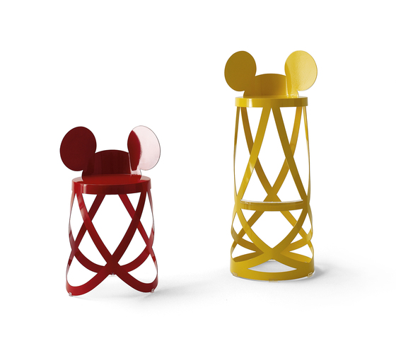 Mickey's Ribbon Stool von Cappellini