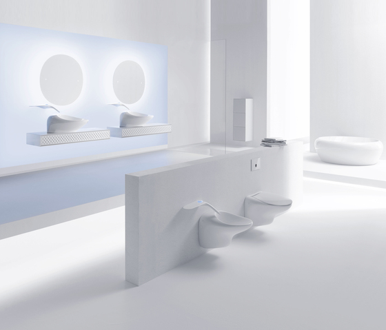 Freedom Counter washbasin di VitrA Bad
