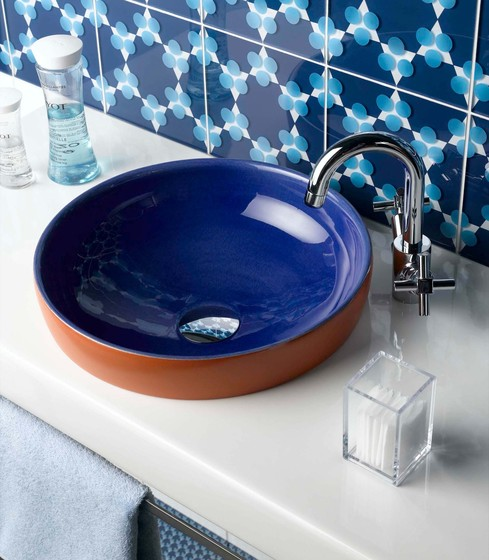 Water Jewels Counter washbasin/Undercounter basin by VitrA Bad
