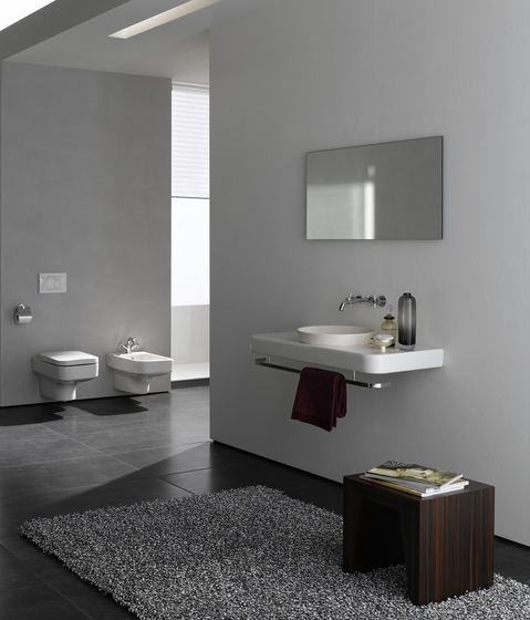 Water Jewels Towel rail front by VitrA Bad
