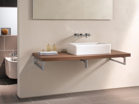 Options Matrix, Semi recessed basin by VitrA Bad