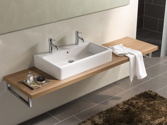Options Single lever bath and shower mixer by VitrA Bad