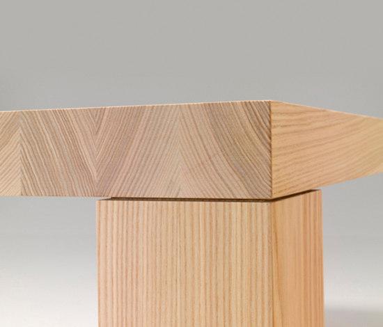 Massivholztisch esstische von performa architonic for Design massivholztisch