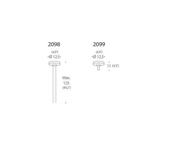 2098 R90 Pendant by Luz Difusión