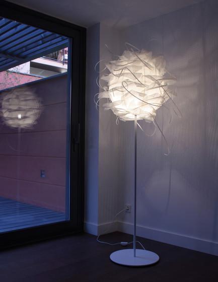 Struk T Lampe de pied de Luz Difusión