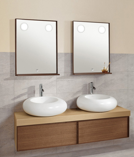 Pure Stone Mirror cabinet by Villeroy & Boch