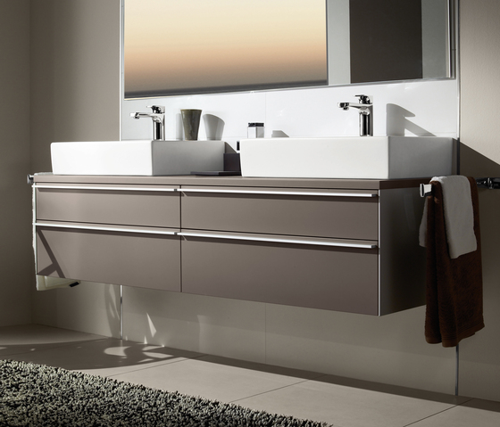 Shape Vanity unit for vanity washbasin by Villeroy & Boch