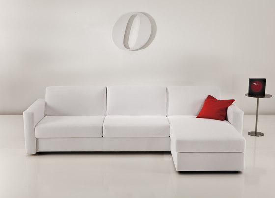 Squadroletto 2200 Bedsofa by Vibieffe