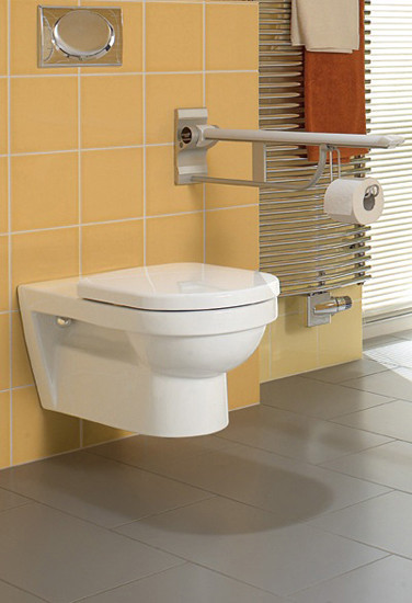 Omnia architectura Bidet wall-mounted by Villeroy & Boch