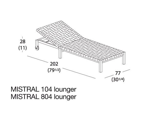 MISTRAL 103 de Roda