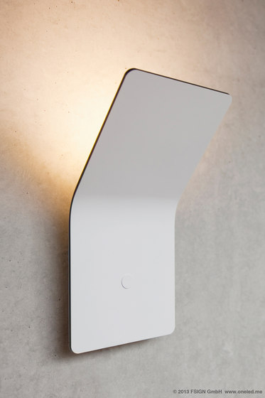 oneLED wall luminaire indirect by oneLED
