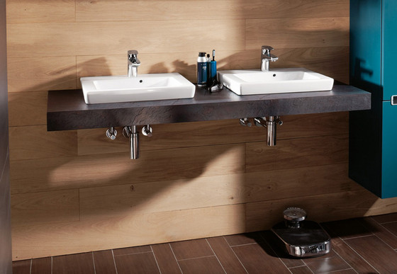 Subway Vanity washbasin by Villeroy & Boch