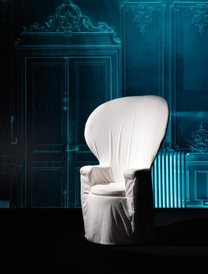 Emmanuelle armchair by Baleri Italia by Hub Design