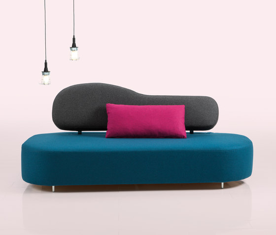 mosspink Seatingscape with stool di Brühl