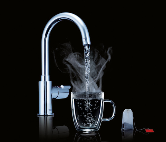 GROHE Red Duo faucet & single boiler by GROHE