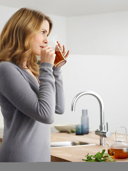 GROHE Red Mono faucet & combi boiler by GROHE