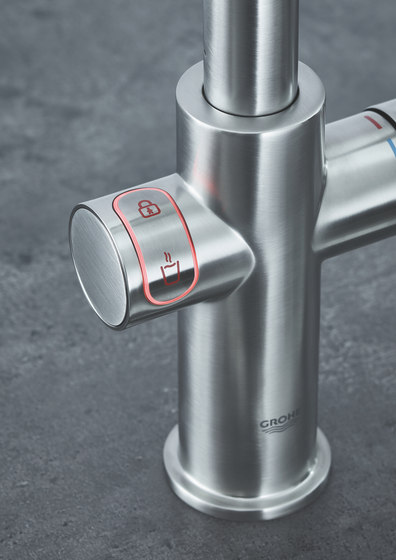 GROHE Red Duo Faucet and combi-boiler by GROHE